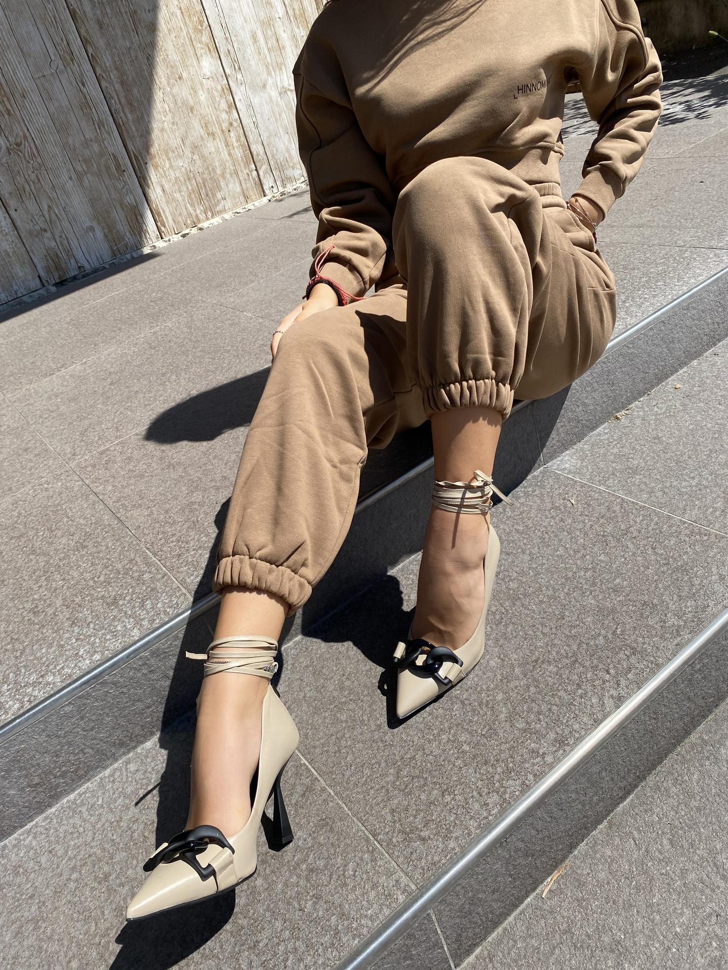 DECOLLETE COUTURE 10T012 TAUPE