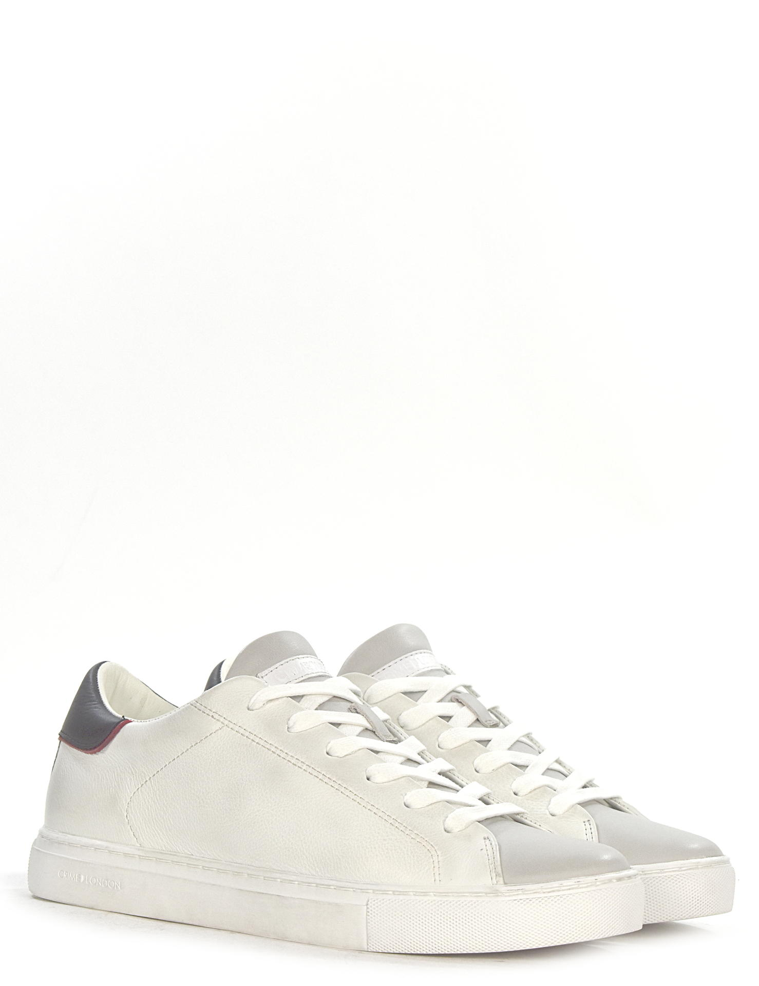 SNEAKERS CRIME LONDON 11542 BIANCO