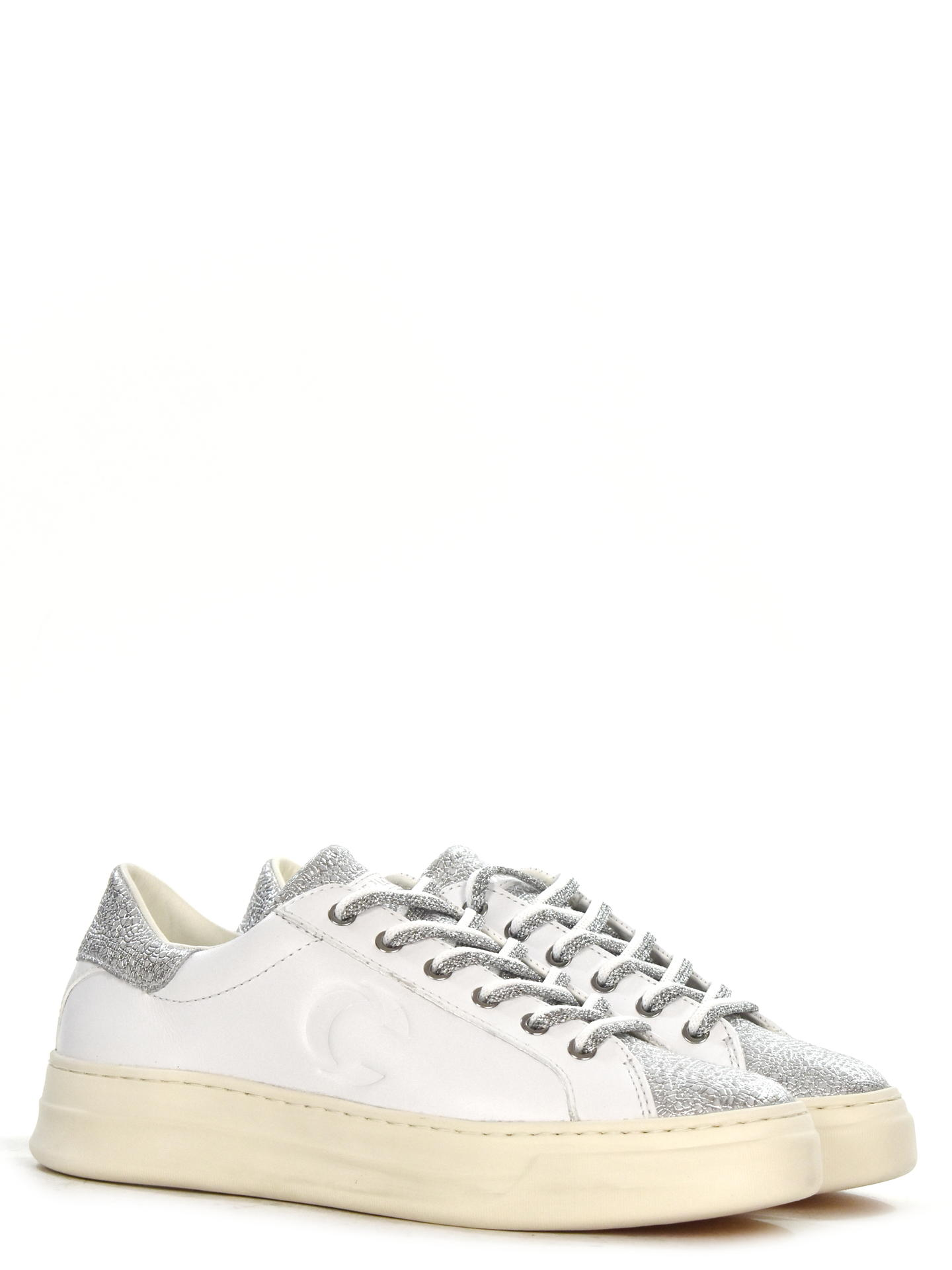 SNEAKERS CRIME LONDON 25509 BIANCO