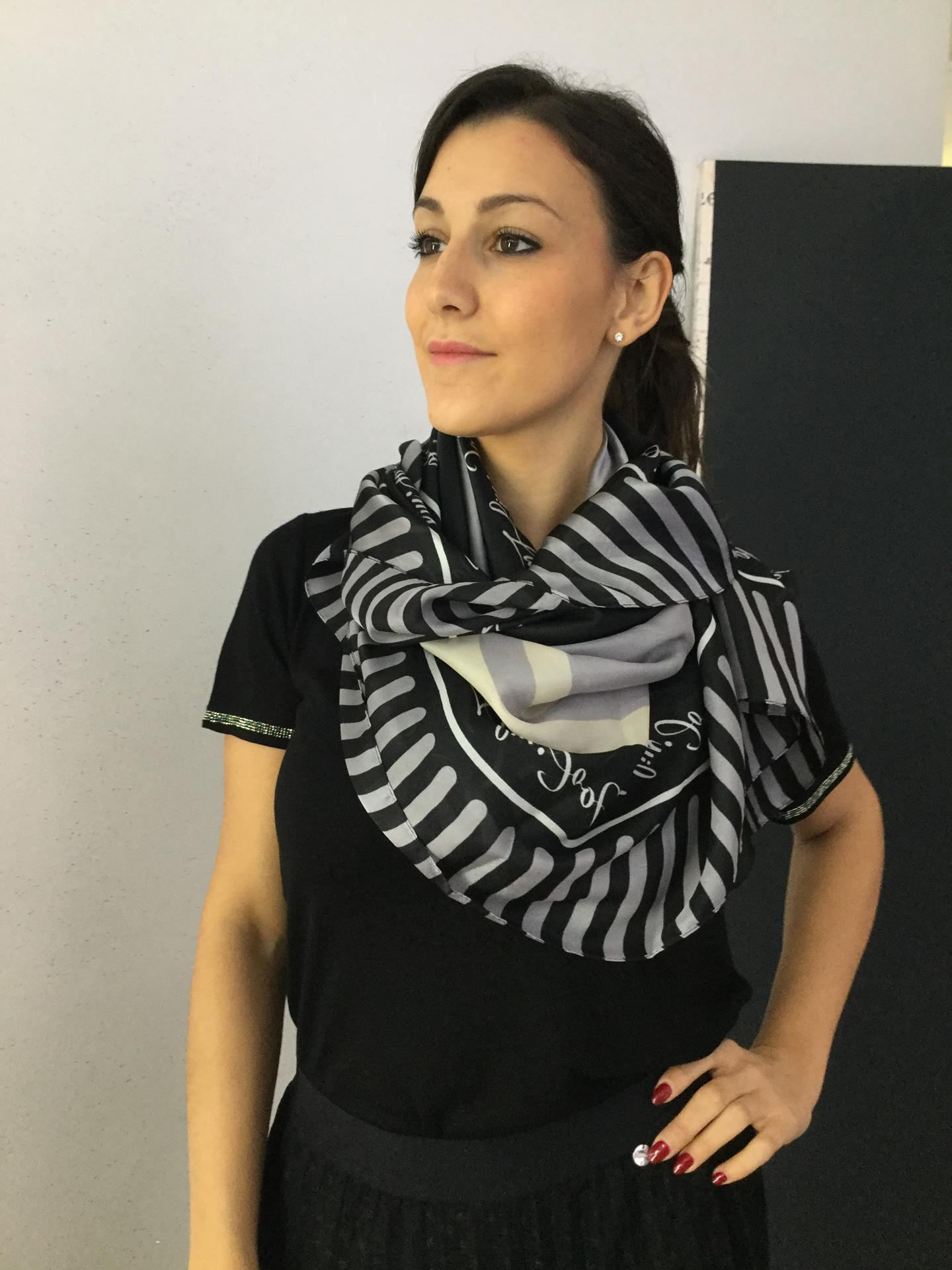 FOULARD LIU.JO ACCESSORIES 3A0040 NERO