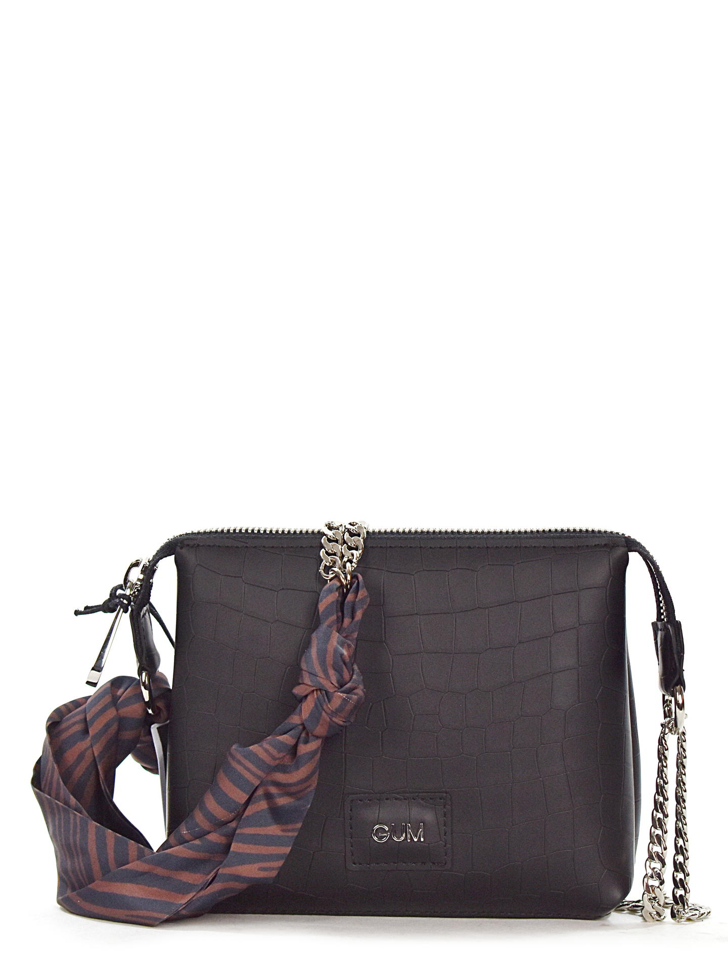 BORSA GUM BY GIANNI CHIARINI 7898JONES NERO