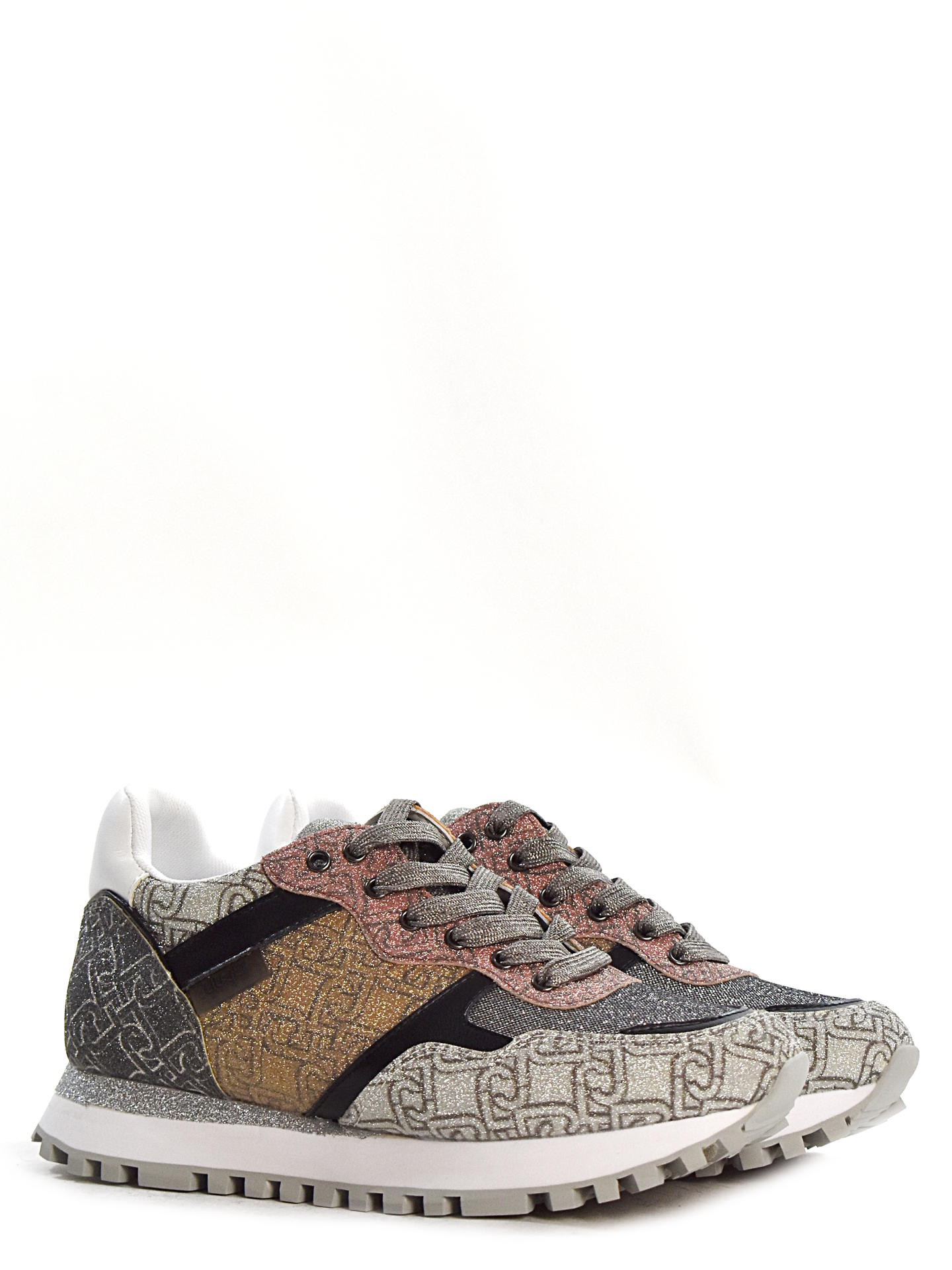 SNEAKERS LIU.JO SHOES BA1049 NERO/ORO