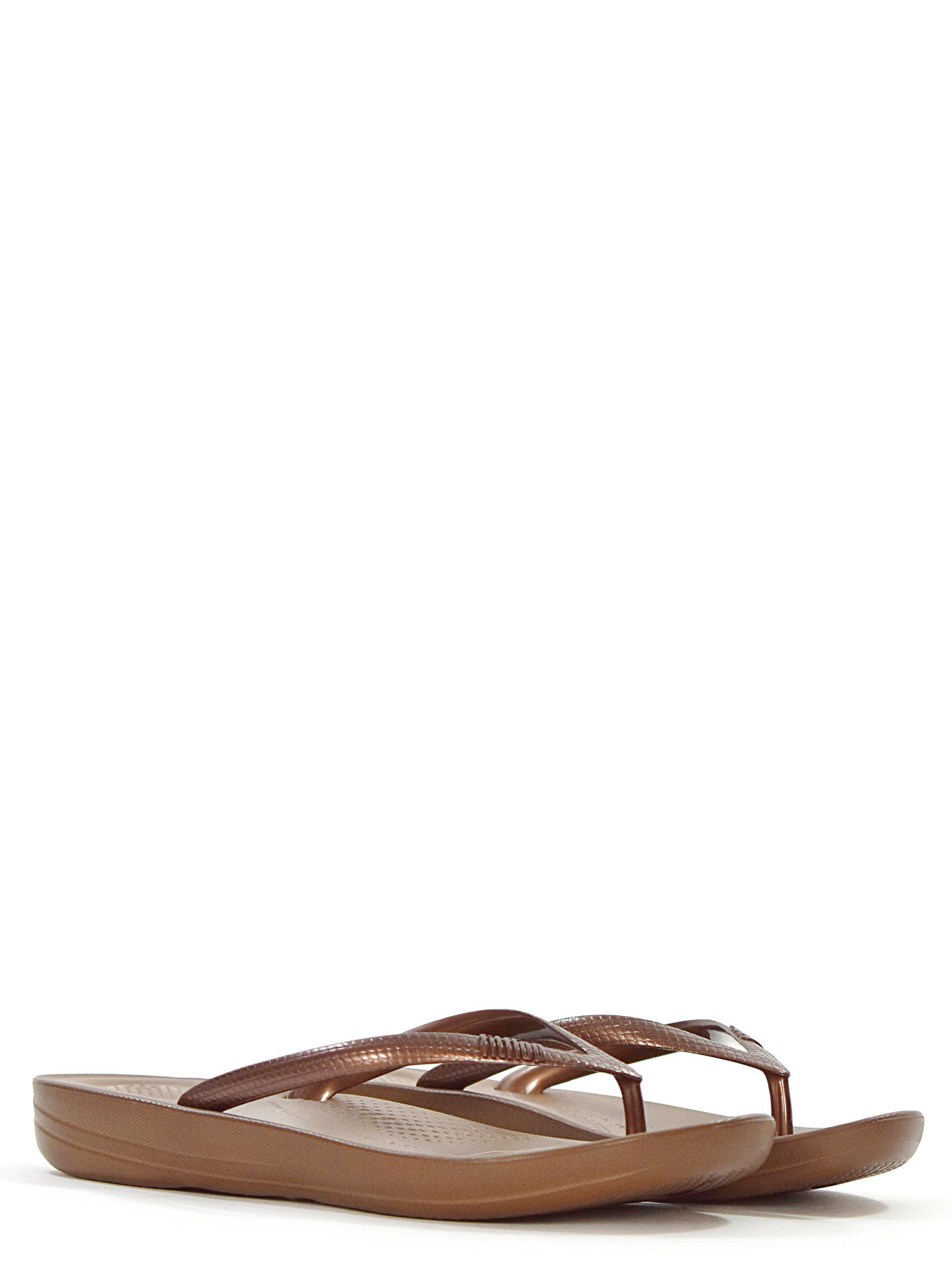 SANDALO BASSO FITFLOP IQUSHIONTM BRONZO
