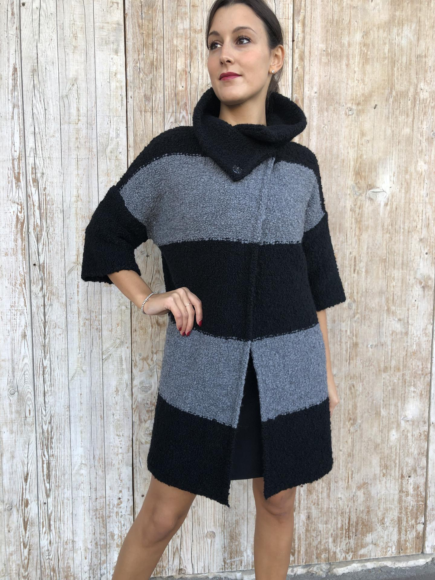 CAPPOTTO LIU.JO WEAR M69205 NERO