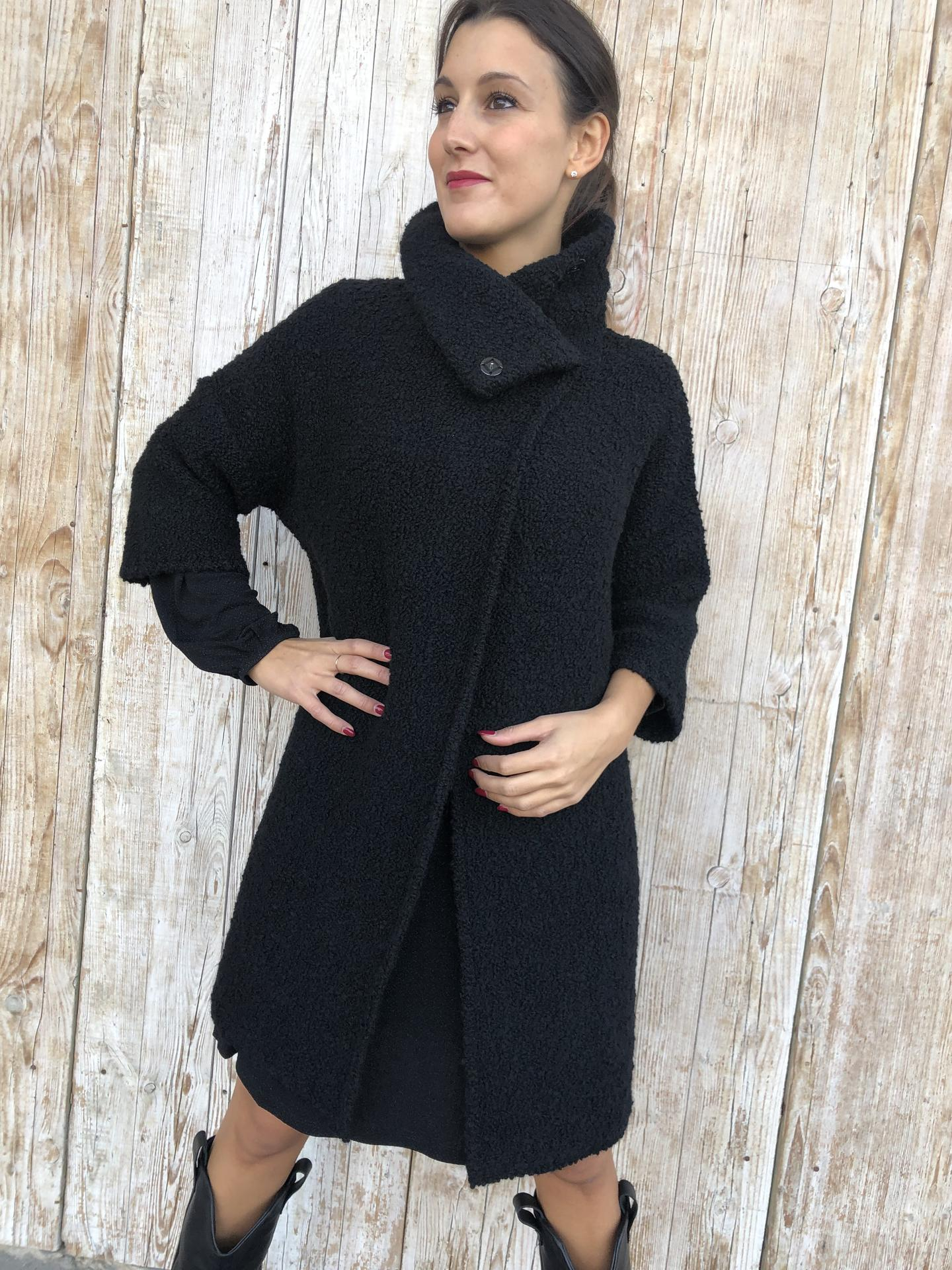 CAPPOTTO LIU.JO WEAR M69221 NERO