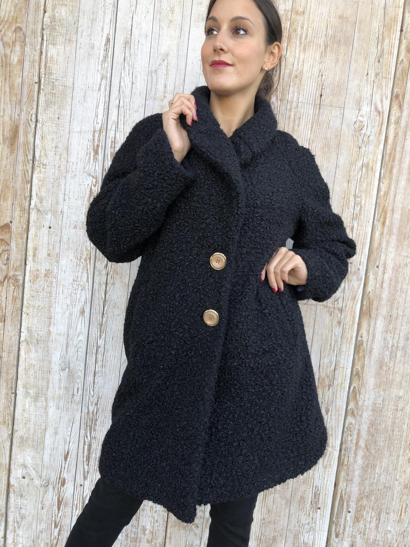 CAPPOTTO KOCCA REPLY NERO