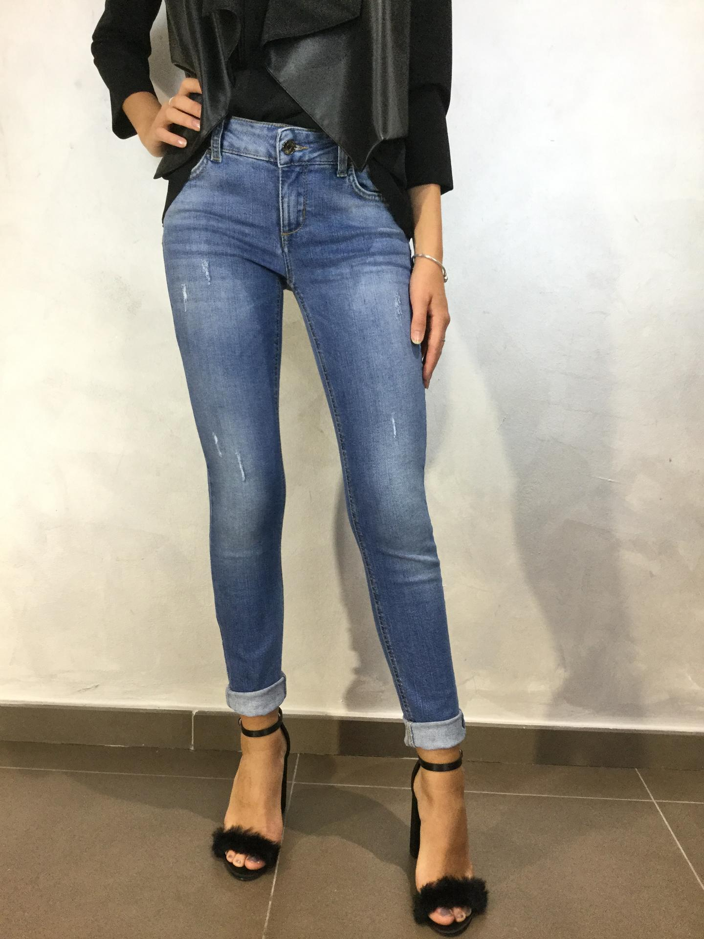 JEANS LIU.JO WEAR U68012 BLUE